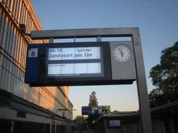 vroege trein
