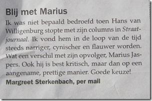 Blij met Marius