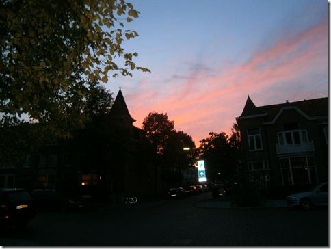 zonsondergang kleverpark